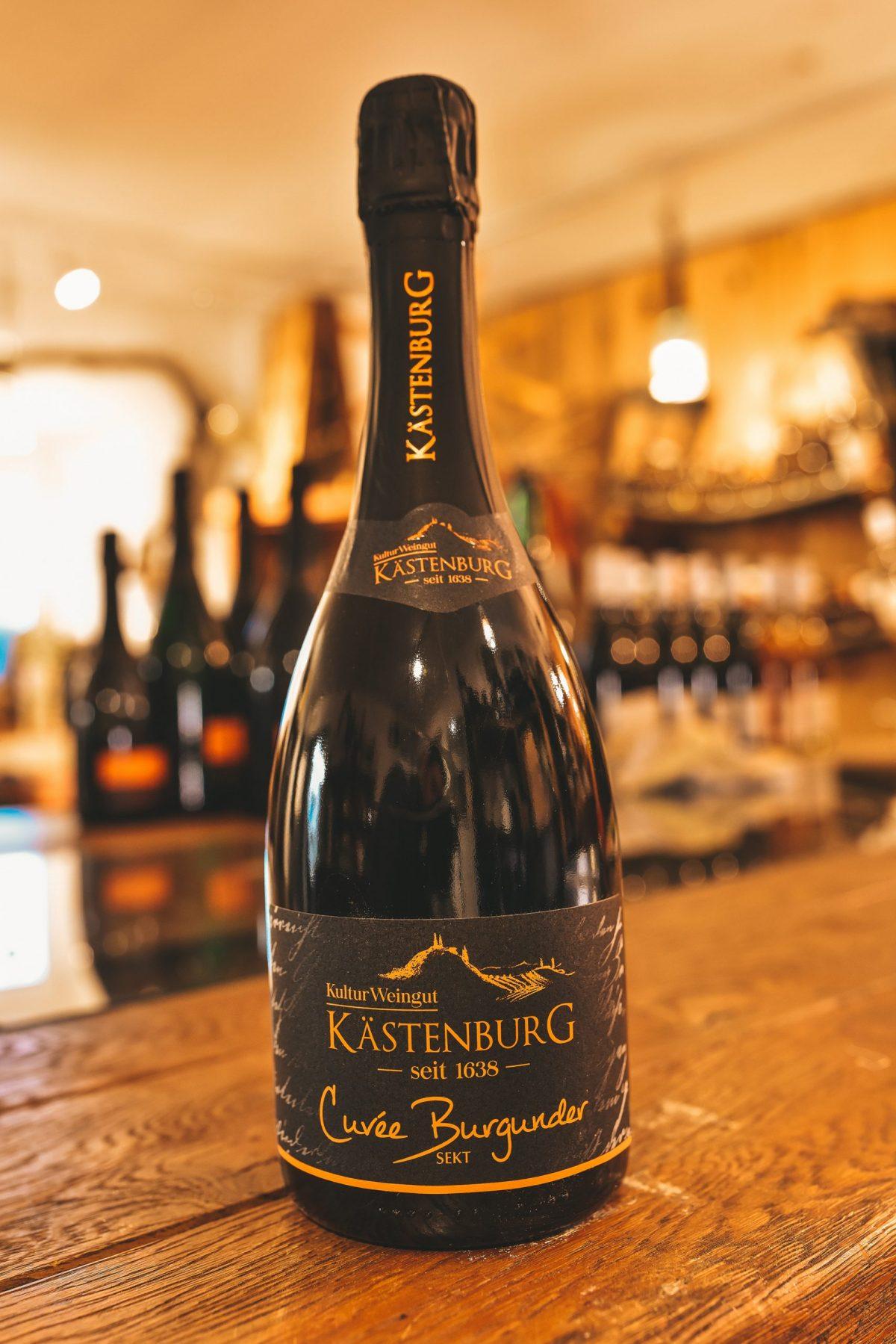 Cuvee Burgunder Sekt scaled | Kästenburg